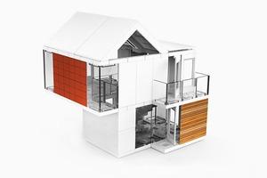 Конструктор для взрослых и юных любителей архитектуры