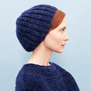 Теплые шерстяные свитеры, шапки и платья Knitbrary