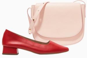 Комбо: Розовый с красным