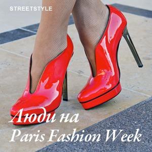 Парень в камуфляже, девушка-Микки-Маус и другие гости Paris Fashion Week
