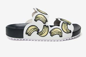 Тапки с бананами  Sophia Webster
