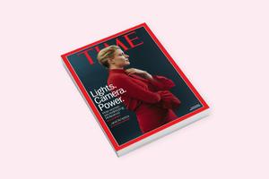 Грета Гервиг появилась  на обложке журнала Time