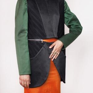 Saint-Tokyo: Асимметричная женская  одежда из Петербурга