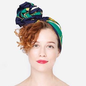 7 способов повязать платок  на голову