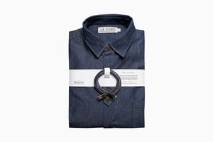 Комплект из джинсового кабеля для айфона и рубашки