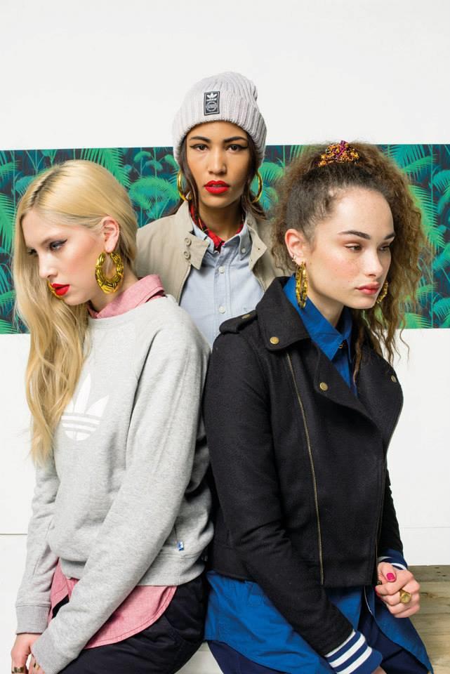Новый лукбук Adidas Originals — в стиле вогинг. Изображение № 20.
