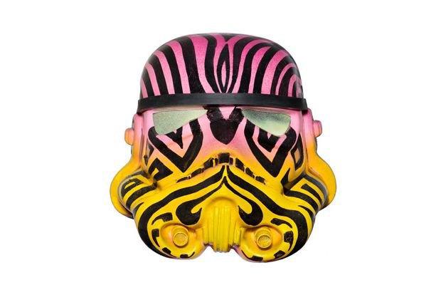 В Лондоне открылась выставка арт-шлемов штурмовиков. Изображение № 5.