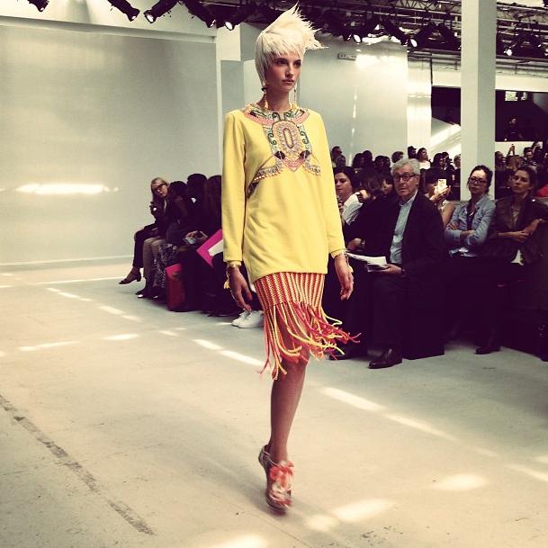 Прямой репортаж  с Paris Fashion Week:  День 3. Изображение № 24.