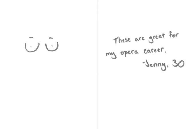 «Они здорово помогают мне как оперной певице», — Дженни, 30. Изображение № 18.
