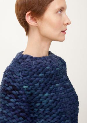 Теплые шерстяные свитеры, шапки и платья Knitbrary. Изображение № 4.