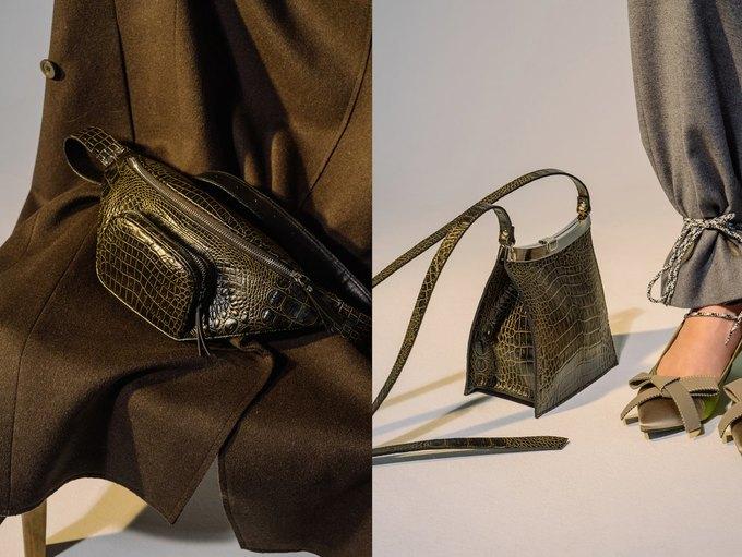 IMAKEBAGS показали новую коллекцию лаконичных сумок. Изображение № 4.