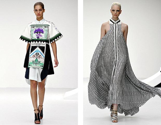 Неделя моды в Лондоне: Показы Acne, Mary Katrantzou, Vivienne Westwood и Philip Treacy. Изображение № 1.