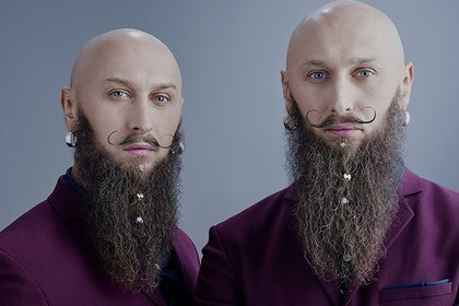Российская марка выпустила ювелирные украшения для бороды. Изображение № 1.