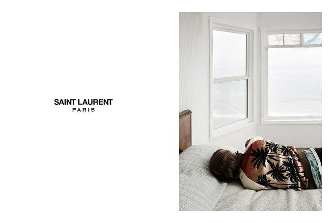 Звезда «Любви» Гаспара Ноэ и сын Килмера снялись в рекламе Saint Laurent. Изображение № 5.