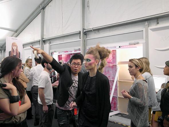 London Fashion Week: Репортаж с бэкстейджей House of Holland и Vivienne Westwood. Изображение № 17.