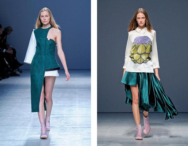 Неделя моды в Париже: показы Veronique Branquinho, Cedric Charlier, Anthony Vaccarello и Aganovich. Изображение № 32.