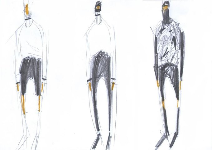 Nina Donis показали мудборд и эскизы новой коллекции. Изображение № 6.