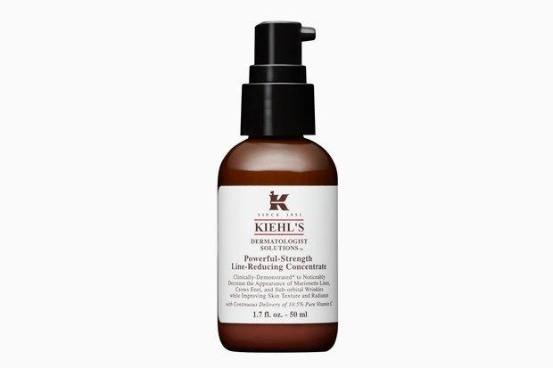 Kiehl's Powerful-Strength Line-Reducing Concentrate.  Очень хорошая сыворотка с 10,5%-ной концентрацией витамина С существует и для лица, и для глаз. Отлично работает по назначению, но требует увлажняющего крема сверху. Изображение № 4.