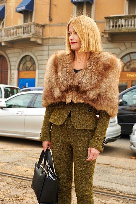 Стритстайл:  Неделя моды в Милане,  часть I. Изображение № 34.