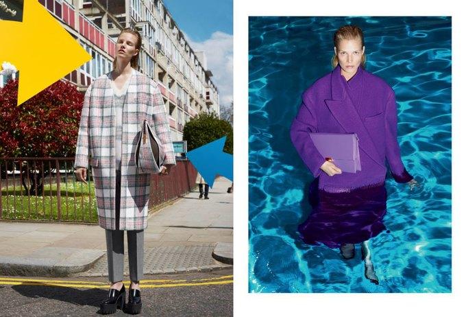 Модели в бассейне в кампании Stella McCartney. Изображение № 2.