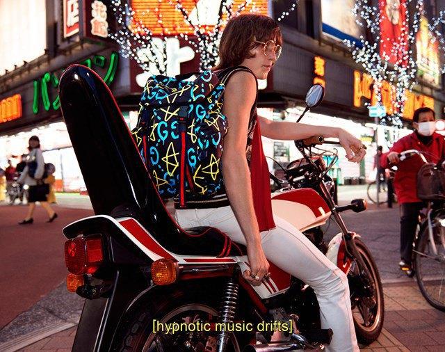 Вышла кампания Gucci  с Петрой Коллинз и ночным Токио. Изображение № 2.