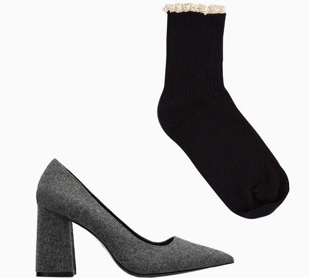 Комбо: Туфли с носками. Изображение № 1.