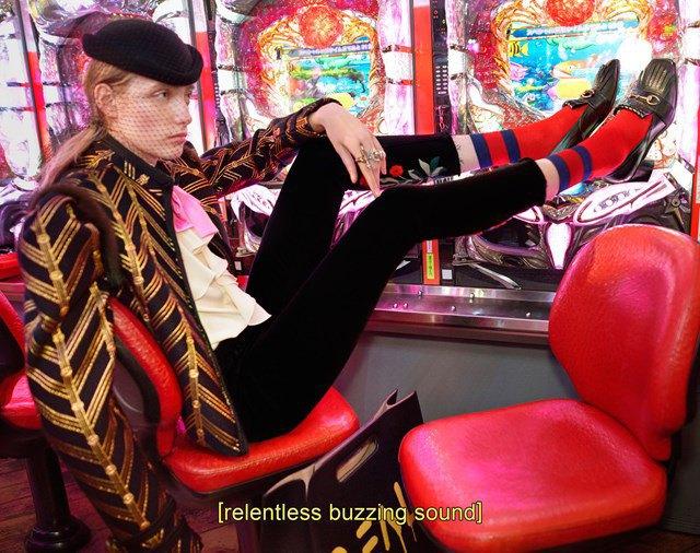 Вышла кампания Gucci  с Петрой Коллинз и ночным Токио. Изображение № 4.