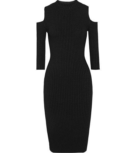 Трикотажные платья в рубчик: От простых до роскошных. Изображение № 3.