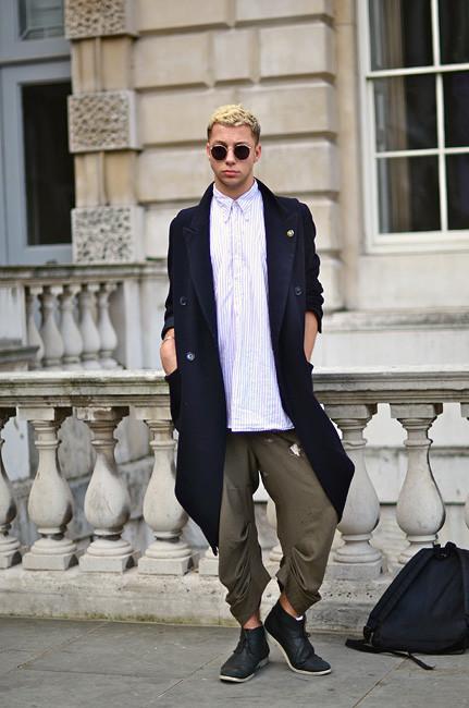 London Fashion Week: Уличный стиль, часть 1. Изображение № 21.