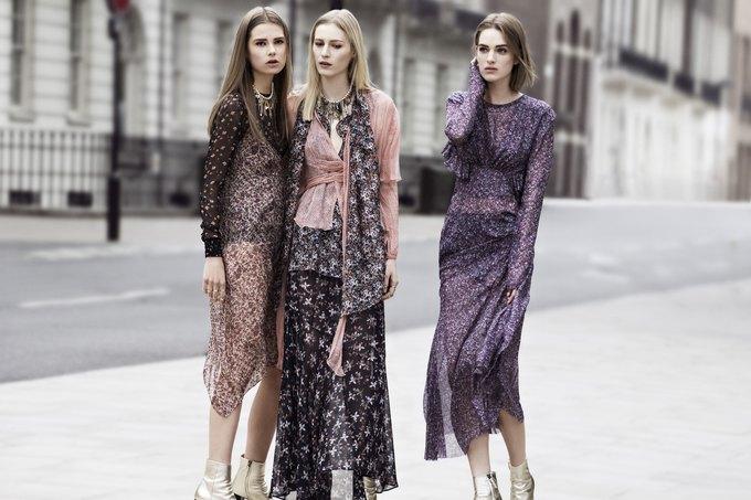 Модели на улицах Лондона в новой кампании Zara. Изображение № 8.