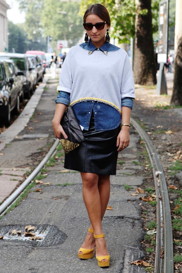 Streetstyle: Неделя моды в Милане. Изображение № 26.