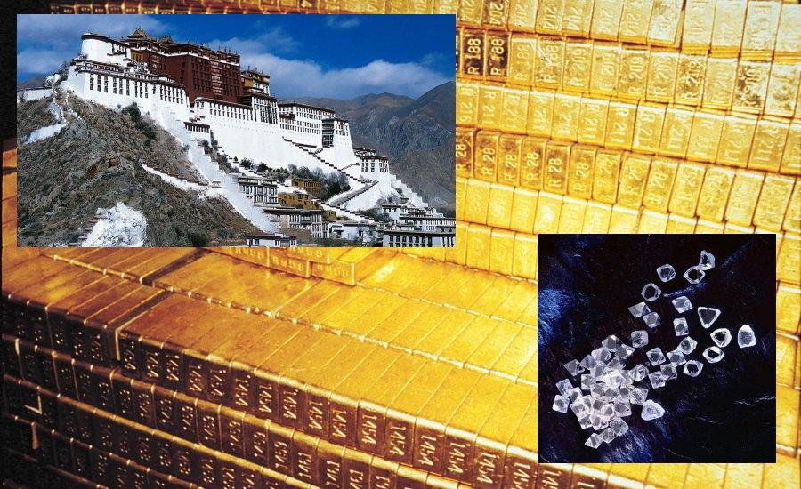 Золото, Бриллианты, Тибет. Изображение № 8.