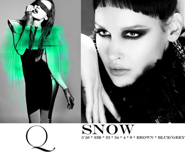 Композитки пяти модельных агентств к Нью-Йоркской неделе моды. Изображение № 20.