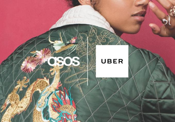 ASOS и Uber проведут совместную акцию UberSTYLE. Изображение № 1.