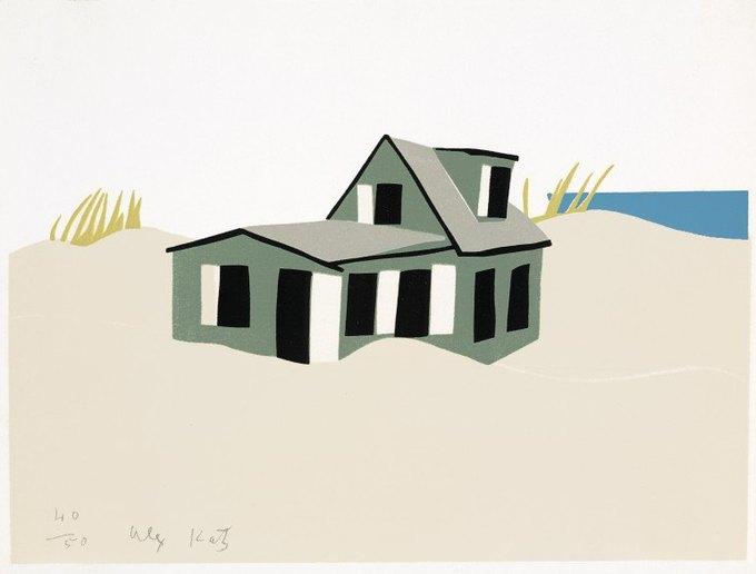 Художник Алекс Кац создал коллекцию для H&M. Изображение № 2.
