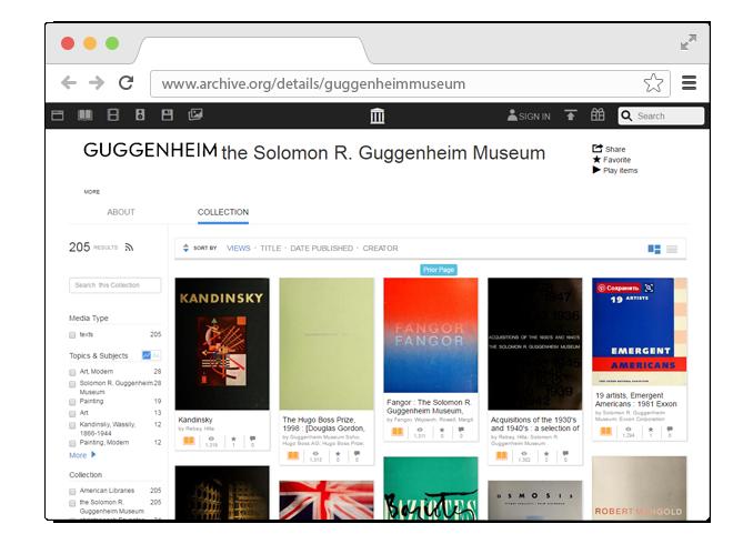 В закладки: Сотни книг по искусству из музея Соломона Гуггенхайма. Изображение № 1.