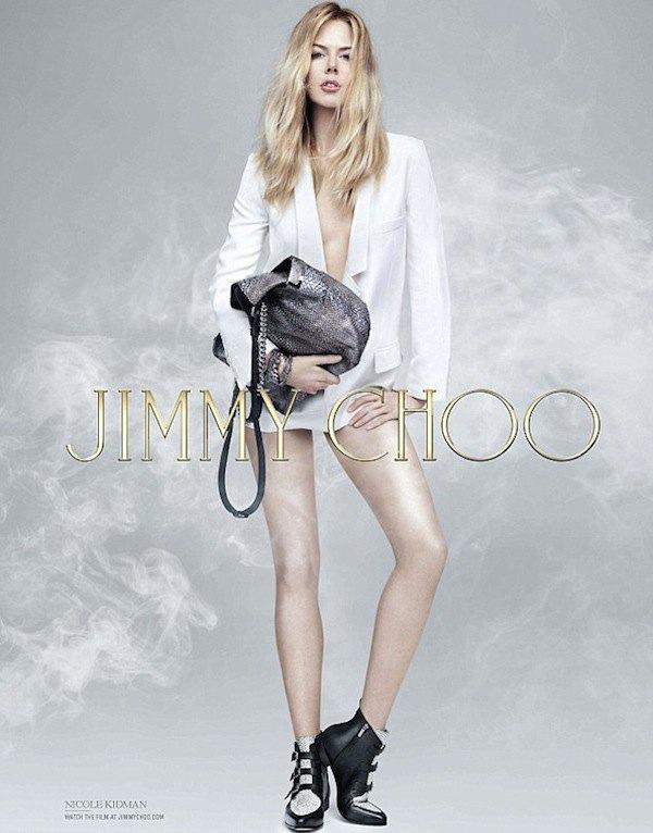 Николь Кидман  невозможно узнать  в рекламе Jimmy Choo. Изображение № 1.