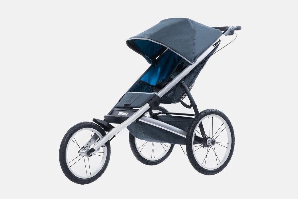 Детская коляска для бега  с ребёнком Thule Glide. Изображение № 1.
