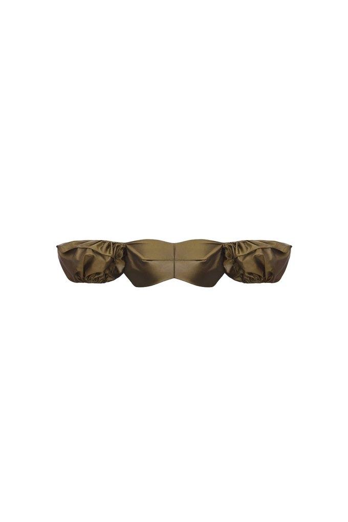 Топы-бронежилеты и квадратные плечи в новом лукбуке BEVZA. Изображение № 72.