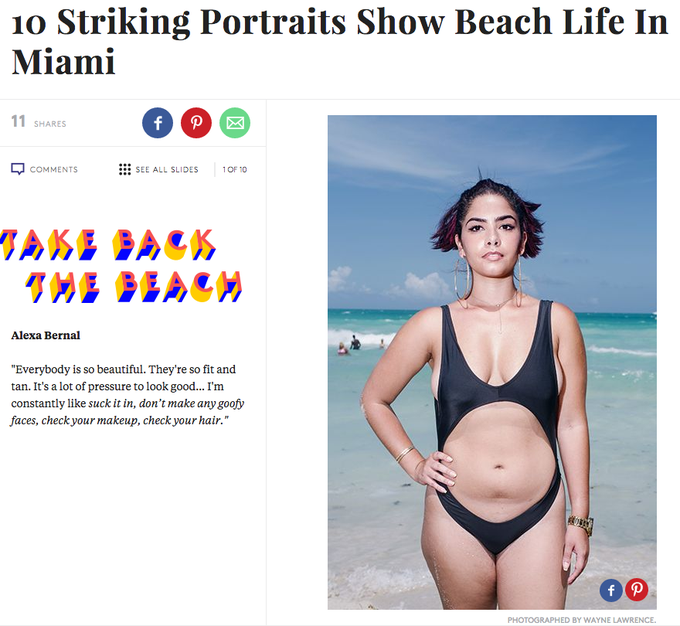 13 женщин показали свое настоящее «пляжное тело». Изображение № 1.