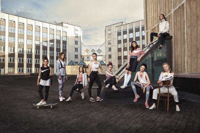 Nike запустили кампанию  в поддержку женщин «Поверь в большее». Изображение № 1.