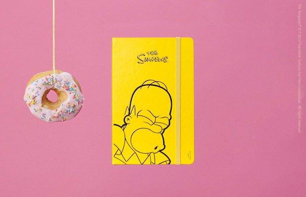 Moleskine выпустила специальную серию к юбилею «Симпсонов». Изображение № 6.