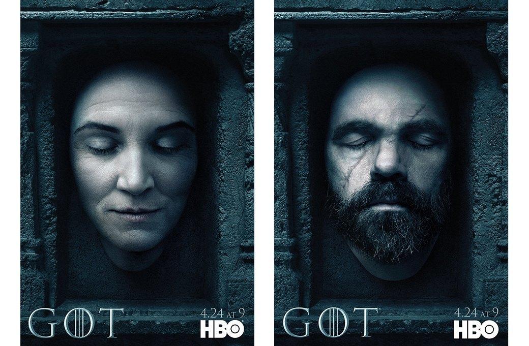 Постеры с героями «Игры престолов» к новому сезону. Изображение № 6.