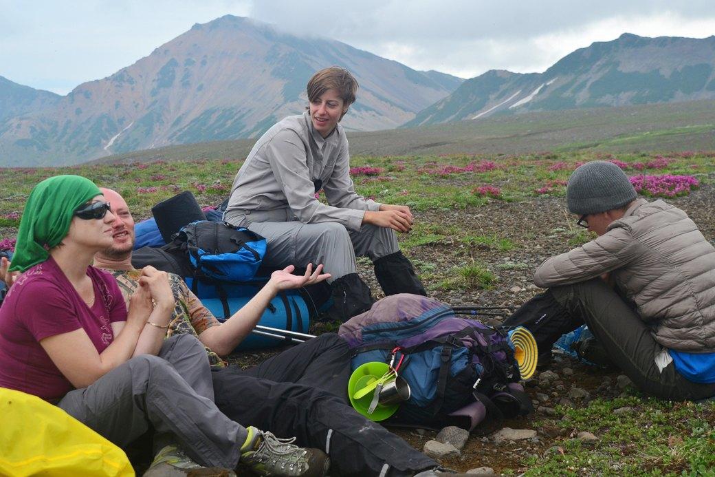 Поход по Камчатке:  160 километров пешком  и подъем на один вулкан. Изображение № 1.
