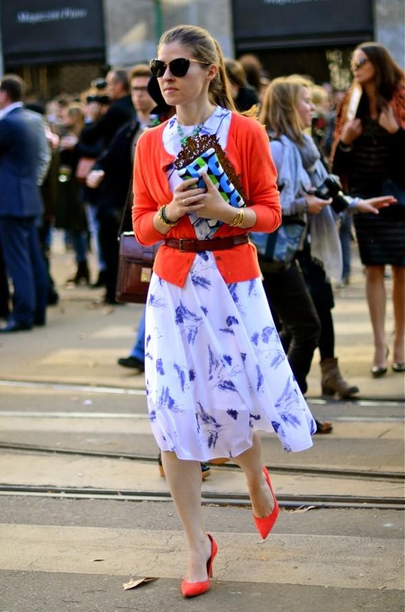 Неделя моды в Милане: Streetstyle. Изображение № 40.