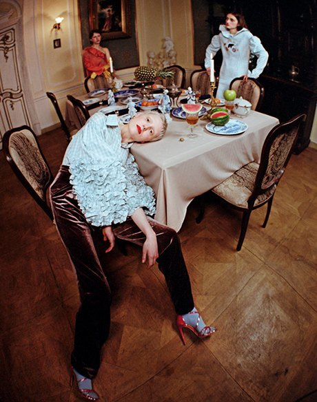 Съёмка Юлдус Бахтиозиной для Naya Rea по мотивам пьесы «Три сестры». Изображение № 2.