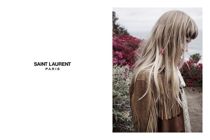 Звезда «Любви» Гаспара Ноэ и сын Килмера снялись в рекламе Saint Laurent. Изображение № 20.
