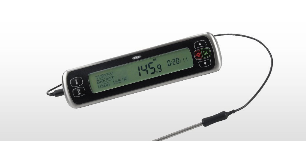 OXO Good Grips Chef's Digital Leave-In Thermometer. Изображение № 3.