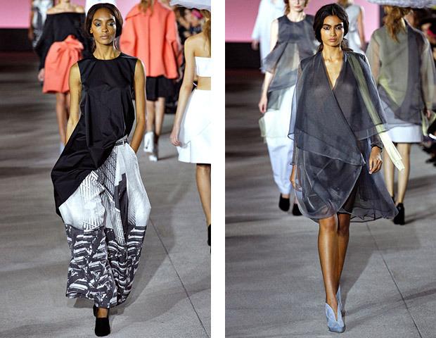 Парижская неделя моды: Показы Kenzo, Celine, Hermes, Givenchy, John Galliano. Изображение № 34.