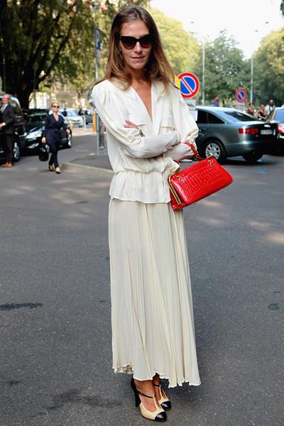 Milan Fashion Week: Уличный стиль, день 4. Изображение № 1.